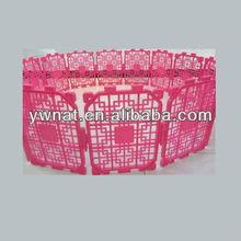 Pet products Clorful Plastic foldable Pet Fence/dog fence /pet cage