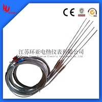 3 Meters K Type 5 x 200mm Thermocouple Sensor for Temperature Controller