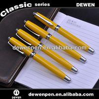 Metal gel pen in gel ink pen for office supply and school supply