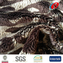 China Manufacturer sells warp knitting print 5MM EF velboa fabric for curtain