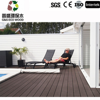 wpc outdoor portable decking