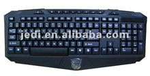 gaming keyboard with fist handle