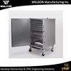 WELDON Aluminum sheet metal bending works, Custom made metal sheet bending part