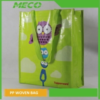 China eco-friendly recyclable PP woven bag/recycled PP woven bag/BOPP laminated PP woven bag