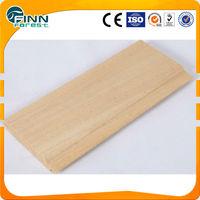 Sauna wall, floor and chair sauna wood Abachi wood sauna board
