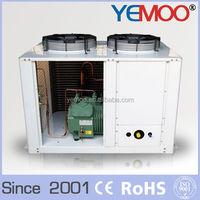 YEMOO 5HP bitzer compressor condensing unit box type U type refrigeration condensing unit