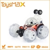 Remote Control Stunt Dump Truck Toy Car, children battery operated toy car 360 Degrees with Light, Music and ROHS Certificate