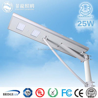 All in one solar led street light 25w China cheap lantern