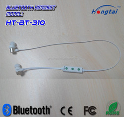 2015 newest private mould BT sport earphone and earbud with microp[hone and cheap price