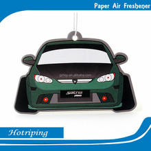 Fashional hanging paper freshener with attractive design air freshener for car