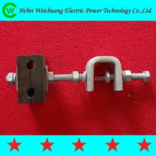 Well Durable High Quality AGY ATY Down Lead Clamp for Pole and Tower, Easy installed with Long Service Life