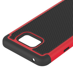 Classical design plastic+silicon hybird matte hard case for Samsung S6 active G890 phones / for Samsung S6 active mobile cover
