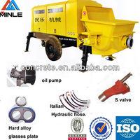 Kawasaki spare parts for small concrete pump HBTS25-8-37