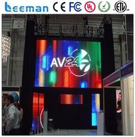 programmable scrolling message sign board multi color led moving display video advertising led display