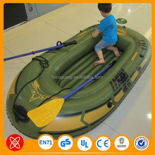 Whole sale price! PVC material rigid Hull foldable inflatable boat