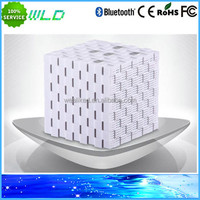 New Arrival 3.0 Silicone Stereo magic cube wireless bluetooth speaker