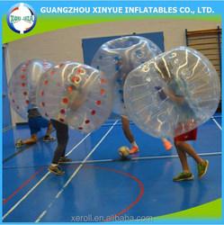 Plastic ball sports popular bubble soccer balls for sale