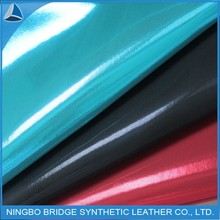 raw material for shoes faux leather fabric