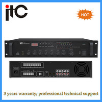 Best sale 120w 5 zone professional mixer audio amplifier for pa system