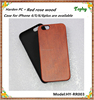 Factory price real blank wood phone cover case for iphone5 5s sublimation