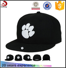 Wholesale Yupoong Plain Good Quality Custom Embroidery Two Tone Basketball Snapback Hats
