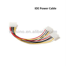 Ready for 4pin Male to Dual Female PC Computer Power Supply Cable for IDE Hard disk CD-ROM