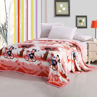 2015 Home Blankets Printed Warm Home Blankets Flannel Cheap blankets