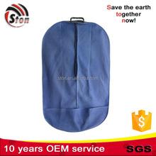 foldable Polyester nylon Suit cover Bag for Garment