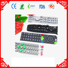 function keys rubber/silicone button rubber keypad