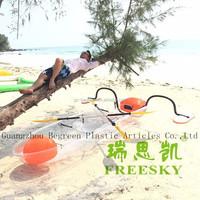Fish Kayak Canoe Boats,Water Play Double Sea Plastic Kayak For Sale