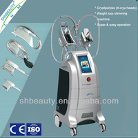 4 Handles Cryolipolysis Cool Body Sculpting Machine