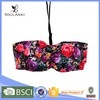 Factory Direct Sale Beauty Flower Print Sexy Young Girls Bra Underwear