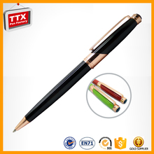 Singapore twist ballpoint pen,slim barrel ball pen