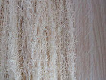1/8Nm 82%cotton 18%nylon fancy feather yarn for knitting