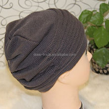 New trends mens ear warmer knitted folded up winter hats