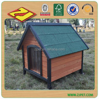 DXDH011 Latest Style Wooden Dog Kennel With Apex Roof