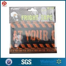 Party Warning Tape Halloween Fright Tape Plastic Ribbon Tape halloween
