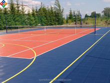 pp interlocking sports flooring basketball used/portable basketball court sports flooring