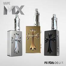 Hot selling rechargeable e smoke box mod liquid thc e cigarette