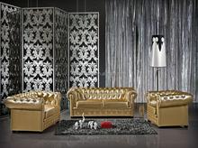 danxueya Postmodern Jane European leather sofa form guangzhou furniture market/ Postmodern simple leisure luxury double sofa 848