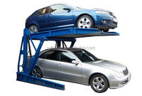 2columns car parking lift, household mini portable garage ,tilting car parking system with CE