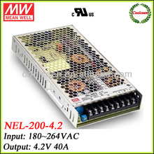 Meanwell NEL-200-4.2 200w power supply switching