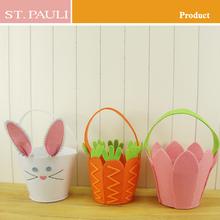 new design novelty handmade easter decorations basket