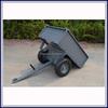 Heavy duty utility tow behind camping wheels atv trailer