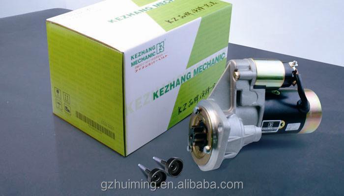 for E308 starter motor parts Guangzhou E307 E308