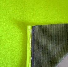 supply 100% Polyester Material multi functional interlock fabric bonded with Terry