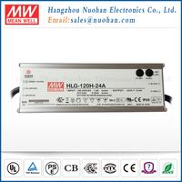 IP65 IP67 120w 24v high power led driver 24v waterproof led power supply HLG-120H-24