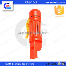 Trade Assurance WAP-health 5 in 1 whistle including mirro,compass,lanyard,mini water storage and whistle