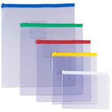 2015 Colored PVC bag for Documents or Envelope pouch