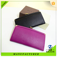 Designer lady purse women bag wallet leather purse for lady